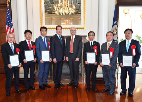 Congratulations to the class of 2017 on their induction into the U.S.-Japan Agricultural Trade Hall of Fame